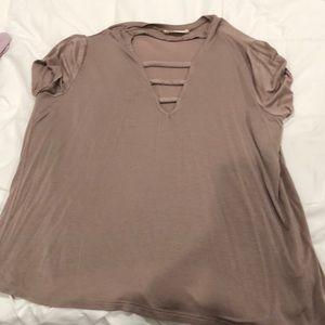 Deep V T-shirt